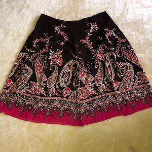 East5th Brown Skirt